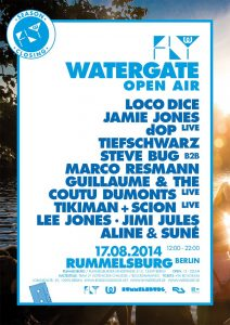 Watergate Open Air closing party