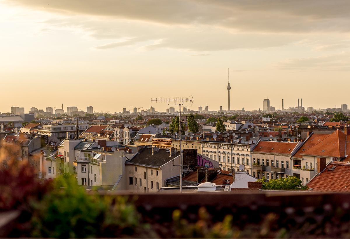 Berlins Dachterrassen Bars Und Cafés über Den Dächern Der