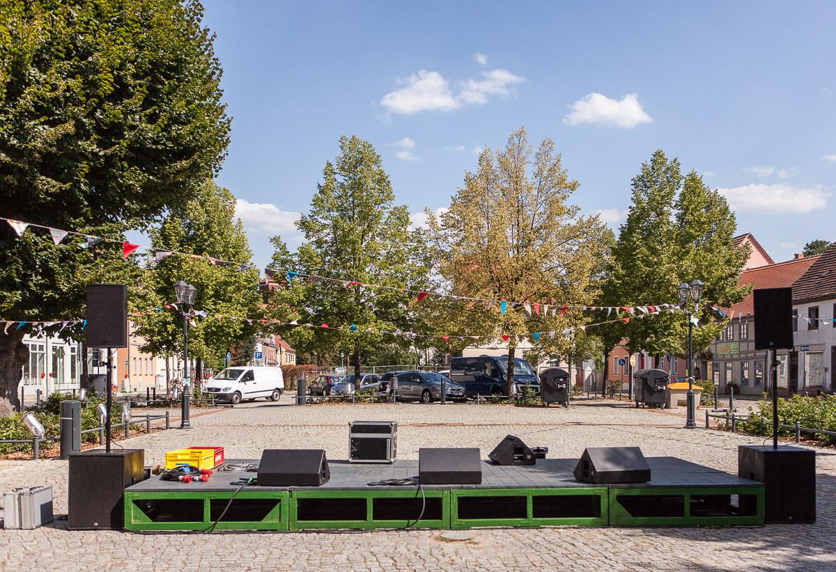 Bühne am Markt