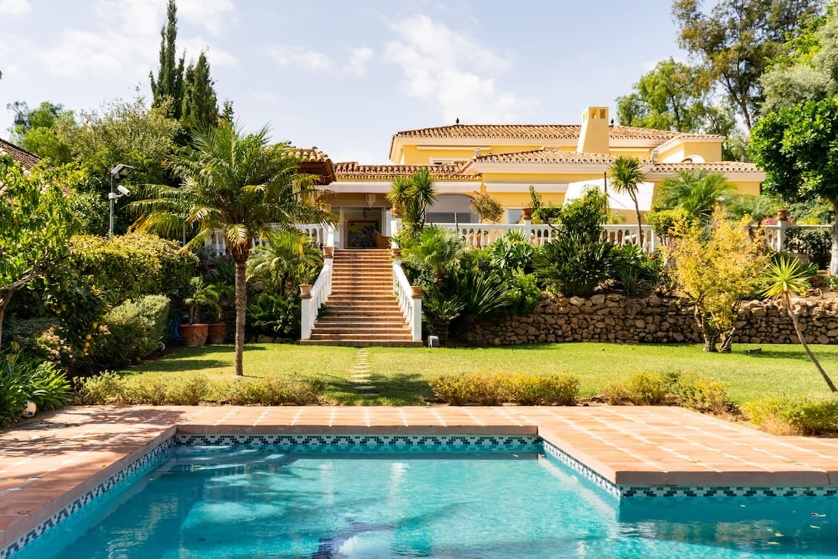 Luxusvilla in Marbella mit Pool