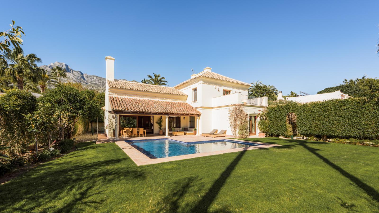Airbnb-Luxusvilla in Marbella
