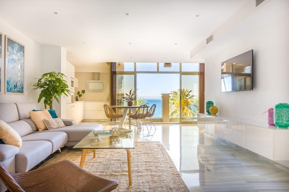 Airbnb Ferienwohnung in Marbella m Strand