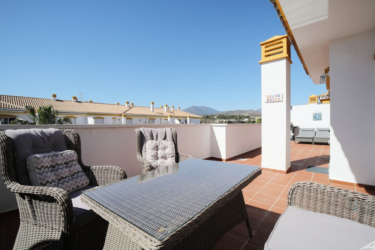 Apartment mit Terrasse in Marbella